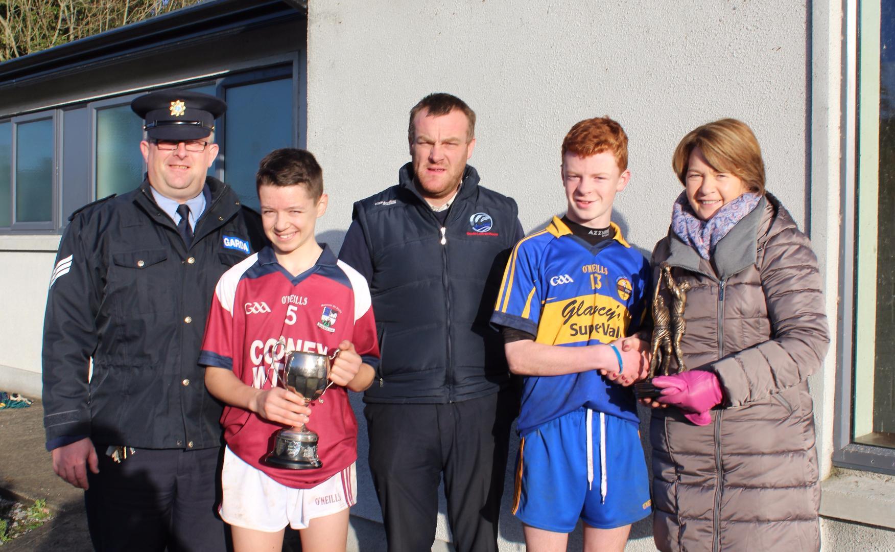 Photo of Boyle win the 2016 Garda Cup Final