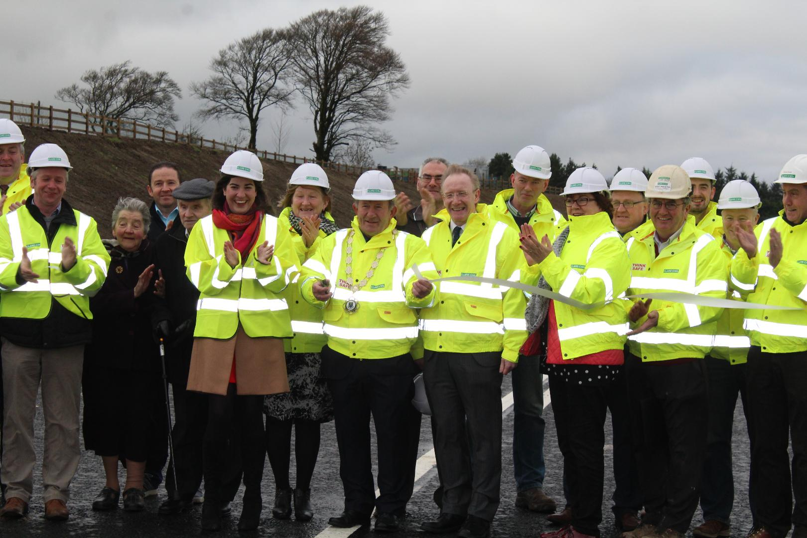 Photo of Realigned N61 officially opened