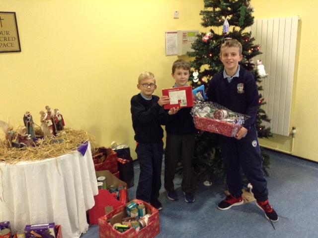 Photo of St Josephs BNS Christmas appeal