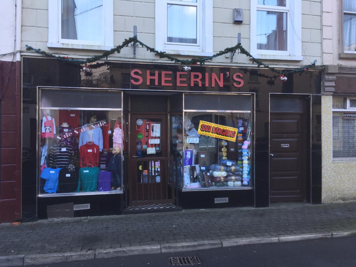 Photo of Sheerins Drapery shop open today