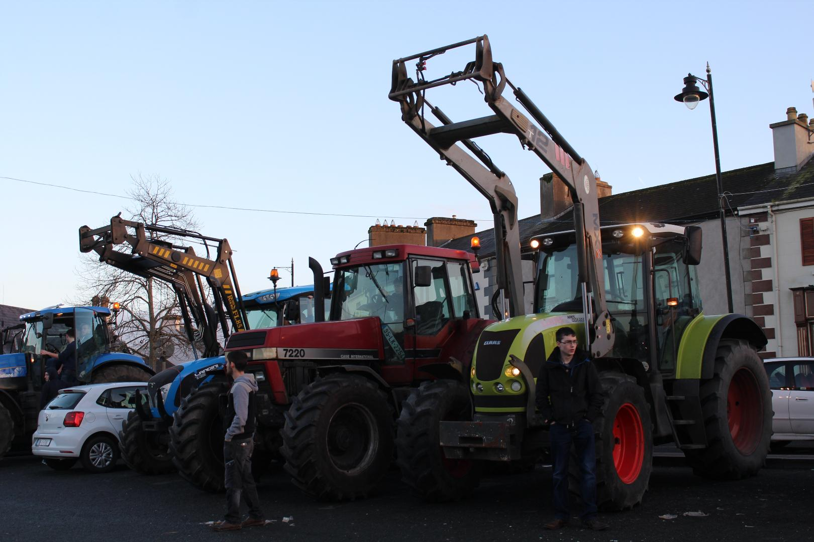 Photo of Tractor Run in Arigna on St. Stephen's Day