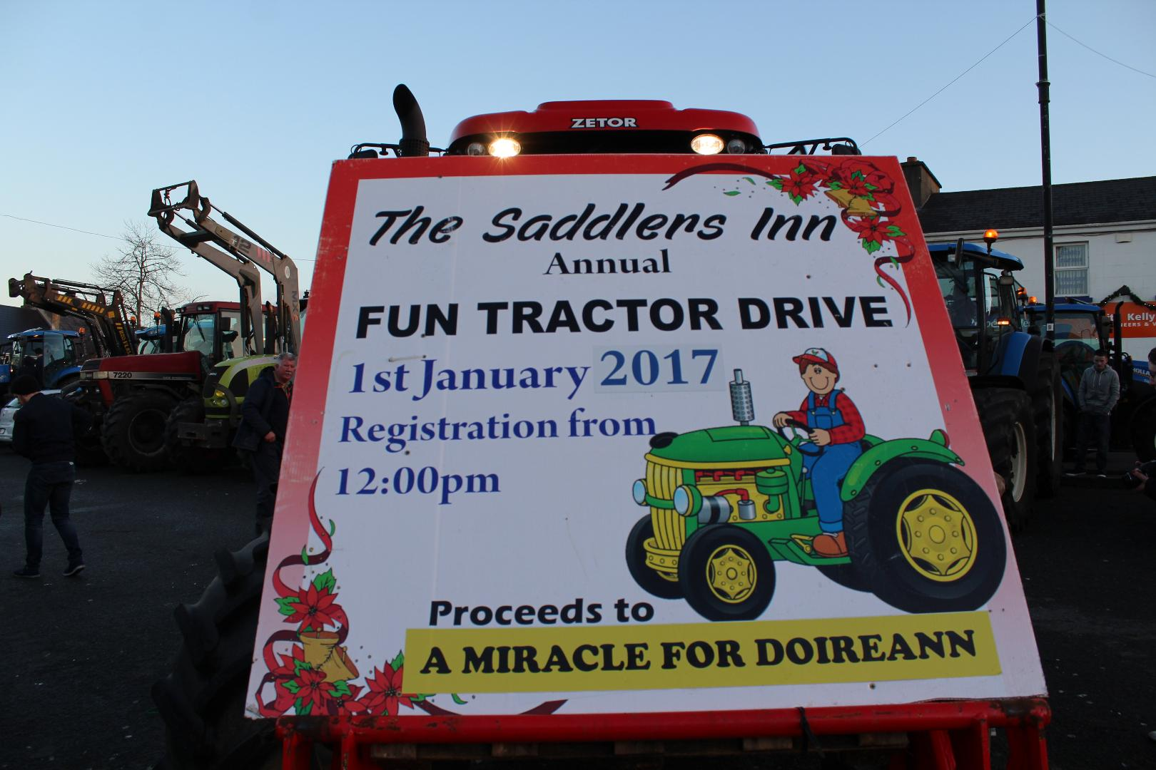 Photo of Tractor Drive stops off in Boyle