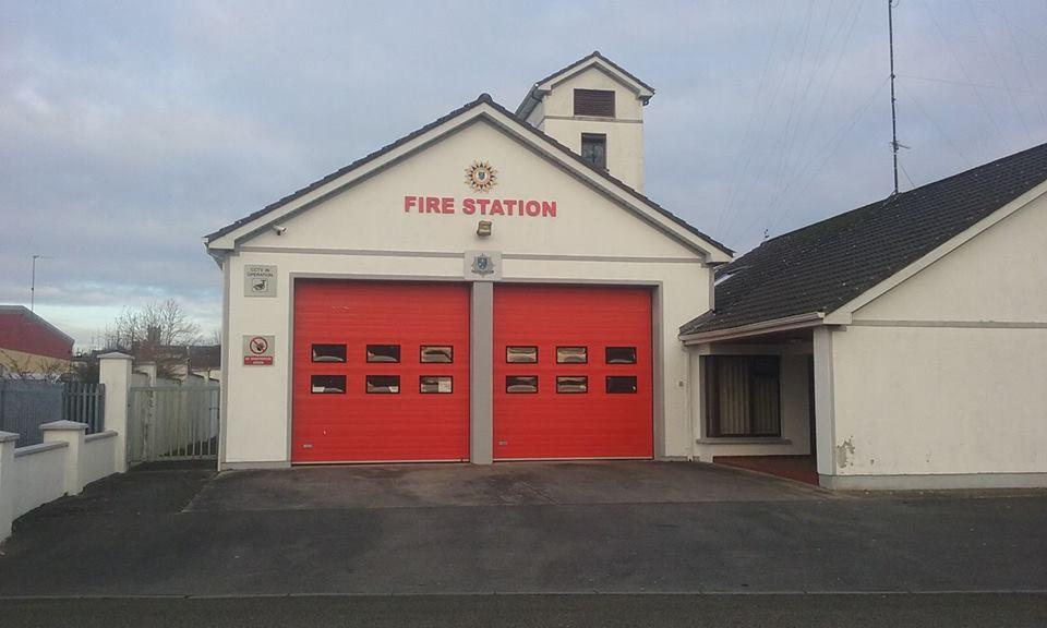 Photo of Castlerea Fire Station meeting