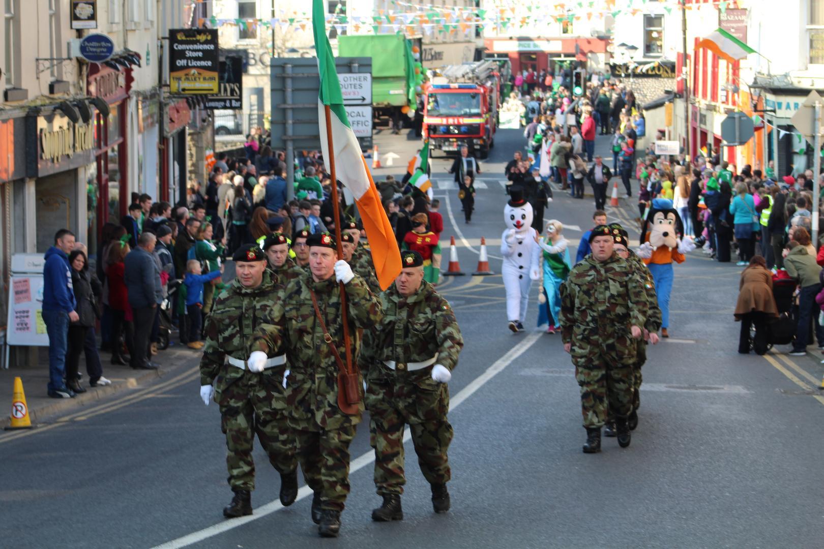 Photo of St. Patrick's Day parade draws near