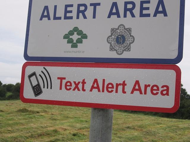 Photo of Ballinameen Text Alert meeting
