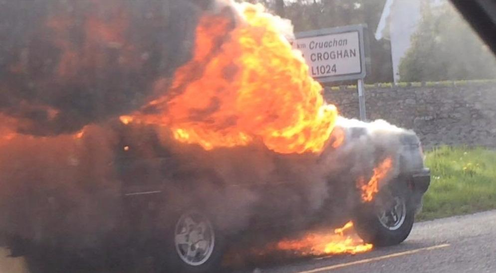 Photo of N4 reopens at Ardcarne after jeep fire