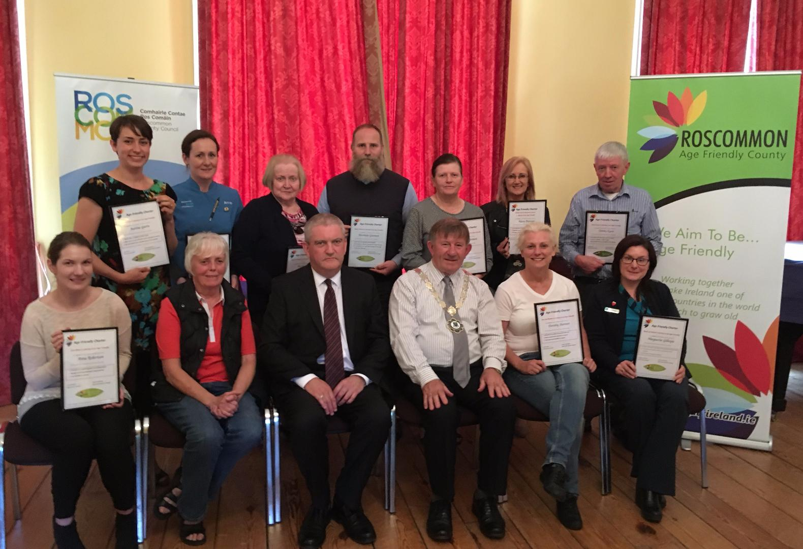 Photo of Boyle businesses receive awards