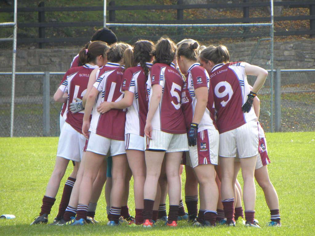 Photo of Boyle girls in county action on Friday
