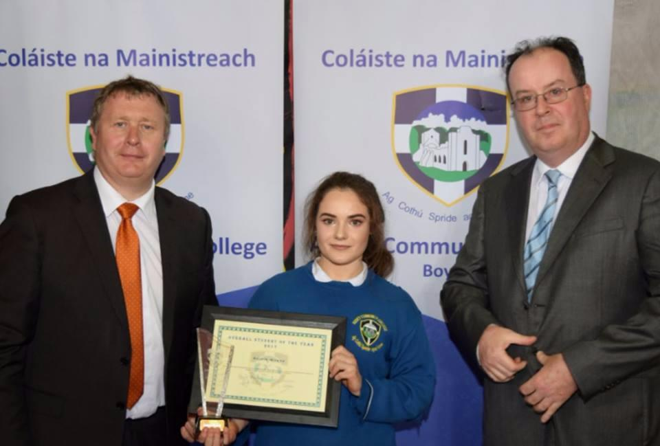 Photo of Roisin is deemed 'Student of the Year'