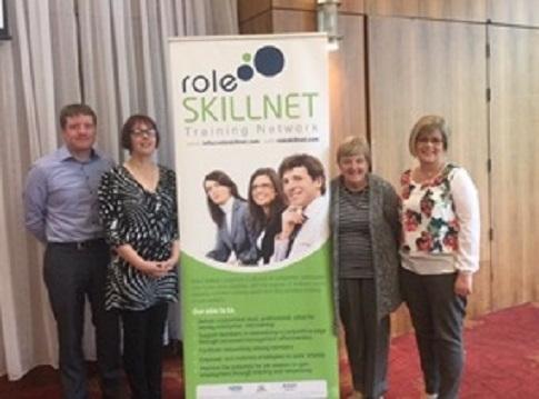 Photo of Boyle businesses at Sligo seminar