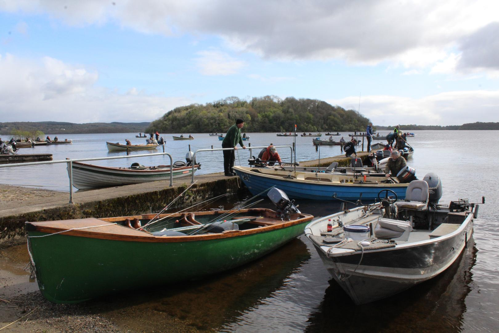 Photo of 150 entries for Angling competition