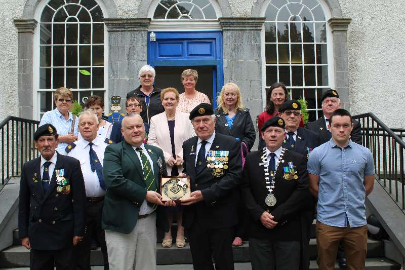 Photo of Jadotville Veterans visit Boyle
