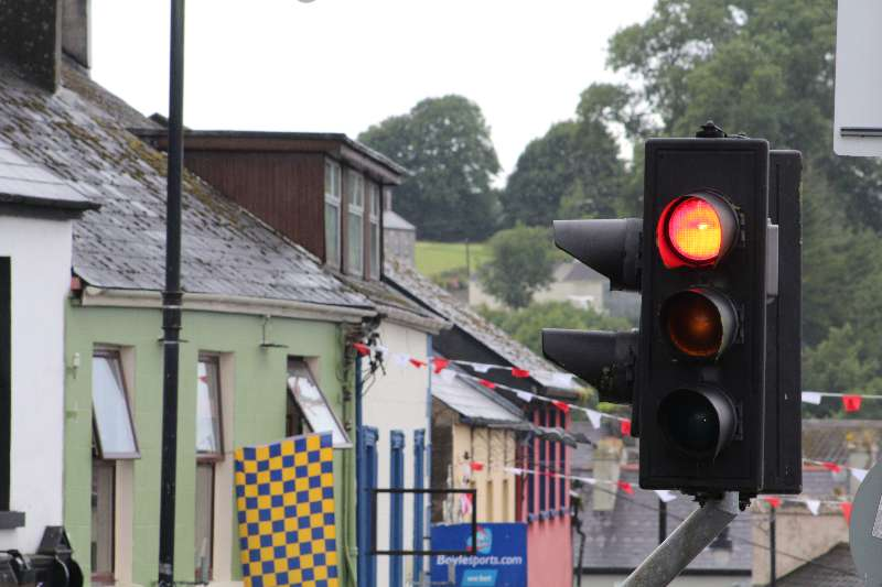 Photo of Red light for Boyle pedestrian lights
