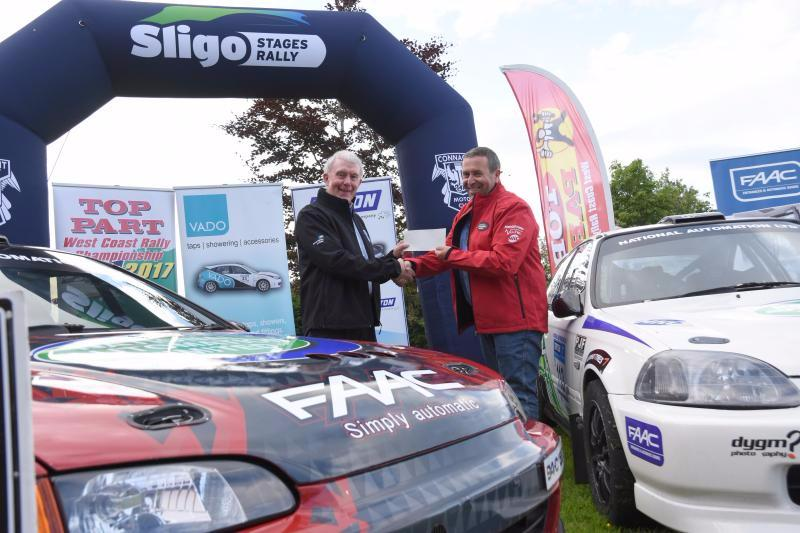 Photo of Boyle link with Sligo Stages Rally