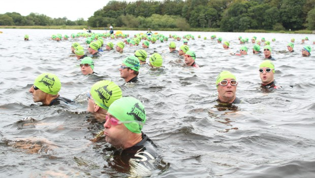 Photo of Final Lough Key member swim