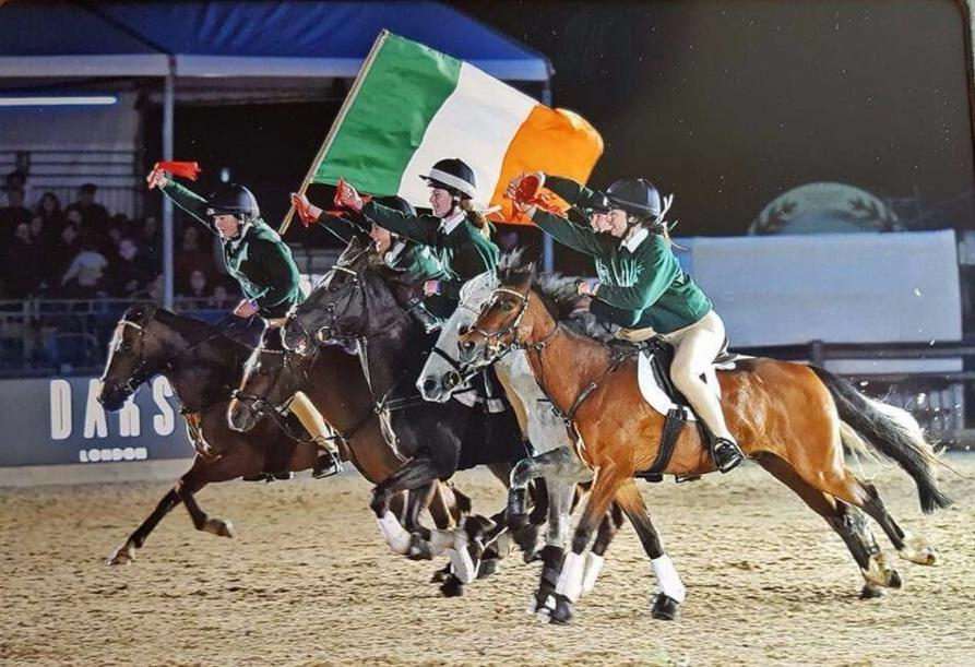 Photo of Boyle girl on Irish team in Windsor