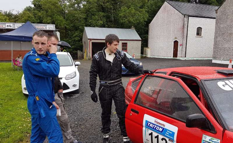 Photo of Boyle driver to the fore in Rally