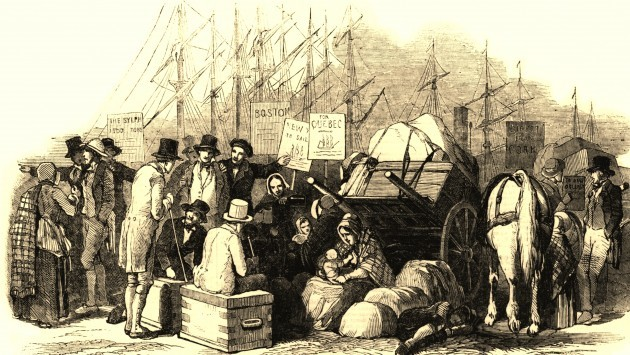 Photo of Emigration from Boyle in 1840's