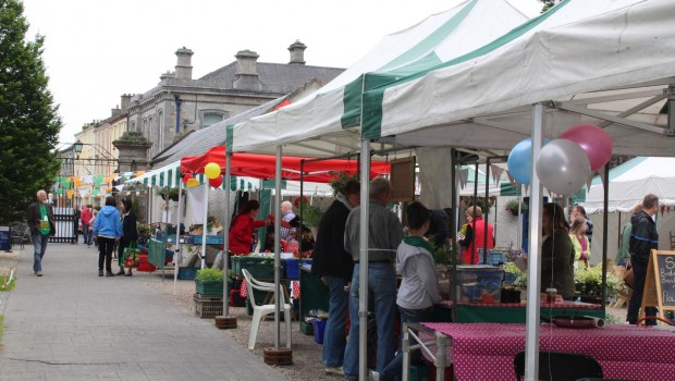 Photo of A busy Boyle Courtyard Market