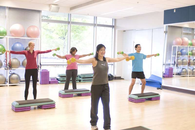 Photo of Ladies health and fitness seminar
