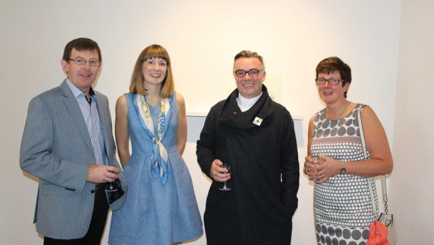 Photo of Boyle artist's exhibition opens