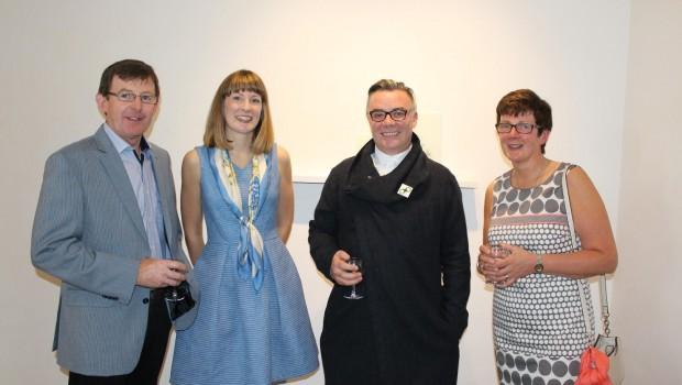 Photo of Boyle artist's exhibition opens