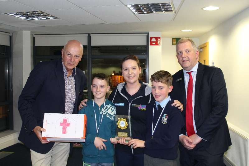 Photo of St Joseph's BNS win Bizworld award