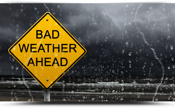 Photo of Wet and windy weather forecast