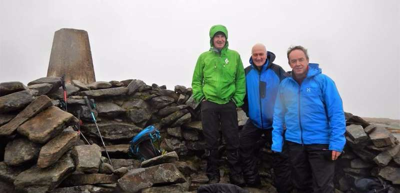 Photo of Local men on summit of Ben Hope