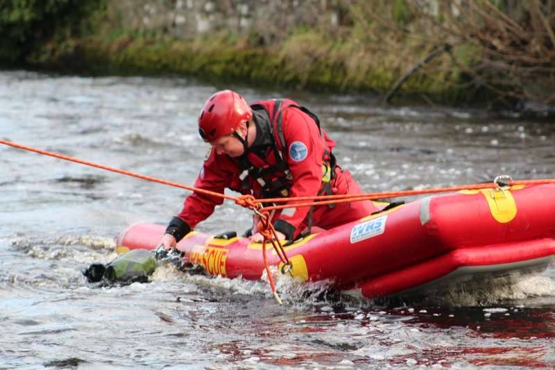 Photo of Swift water training for Fire Service