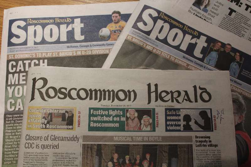 Photo of Roscommon Herald has been sold
