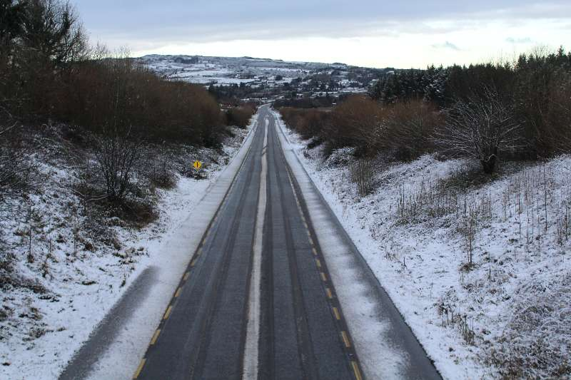 Photo of Dangerous road conditions Thursday