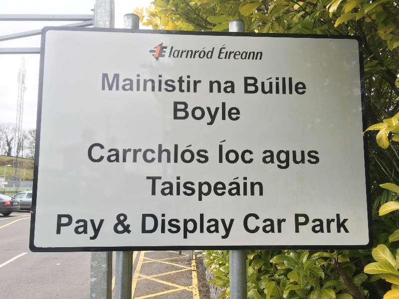 Photo of Car parking changes at Boyle station