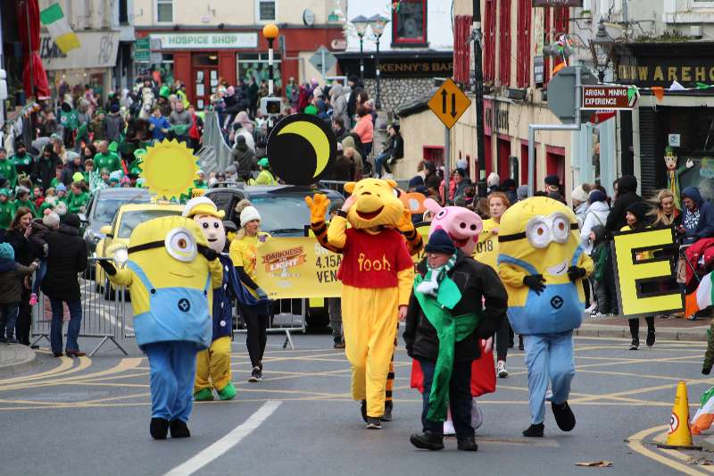 Photo of St Patrick's Day parade meeting