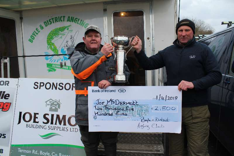 Photo of Fifth fishing win for Joe Mc Dermott