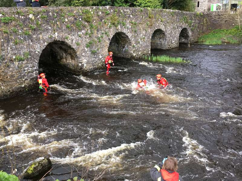 Photo of Man rescued from Boyle River