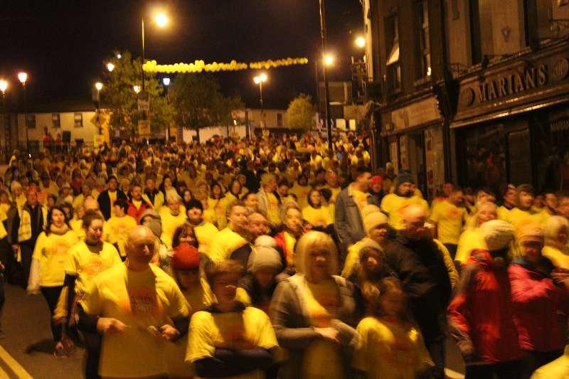 Photo of Over 800 participate in Boyle walk