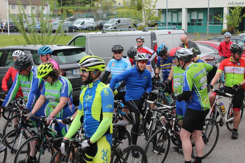 Photo of 180 cyclists enjoy Lough Key Classic