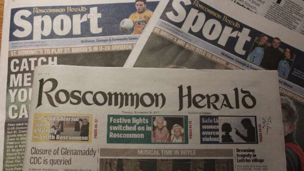 Photo of Roscommon Herald sale completed