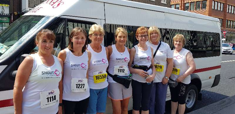 Photo of Boyle ladies complete min marathon