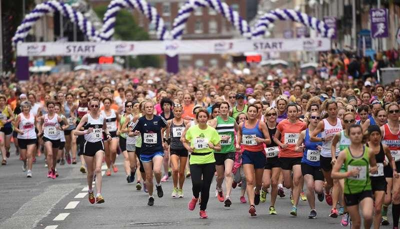 Photo of Keadue ladies in Mini Marathon