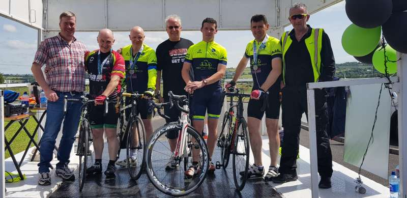 Photo of Team Trojan complete Donegal Ultra