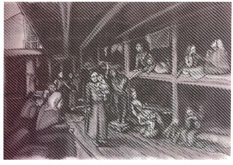 Photo of Boyle Workhouse in Famine times