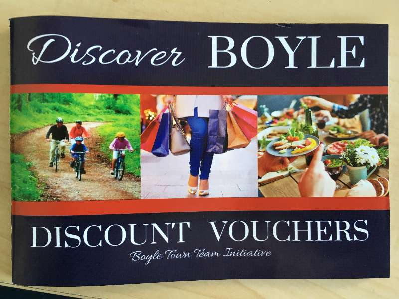 Photo of New 'Discover Boyle' discount book