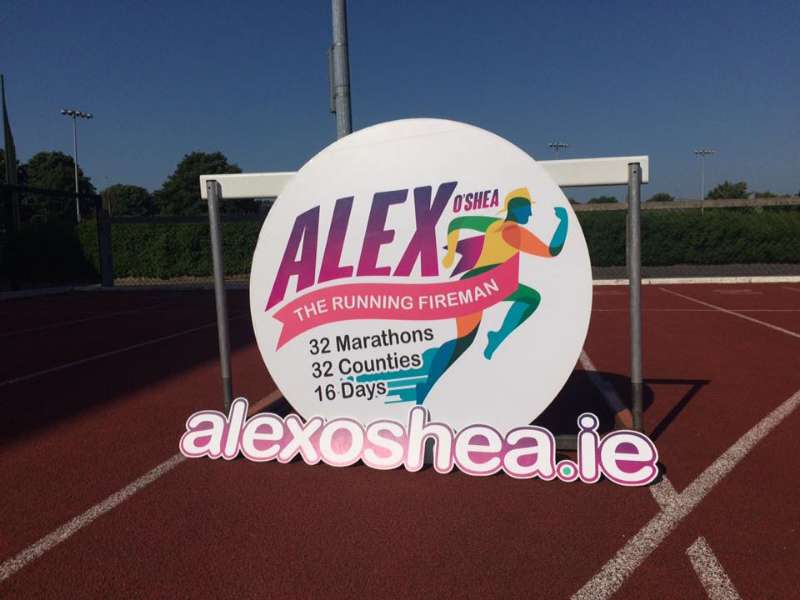 Photo of Marathon challenge in Boyle today