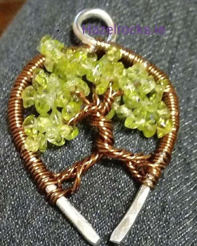 Photo of Tree of Life pendant workshop