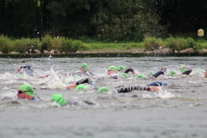 Photo of Introduction to open water swimming in Lough Key