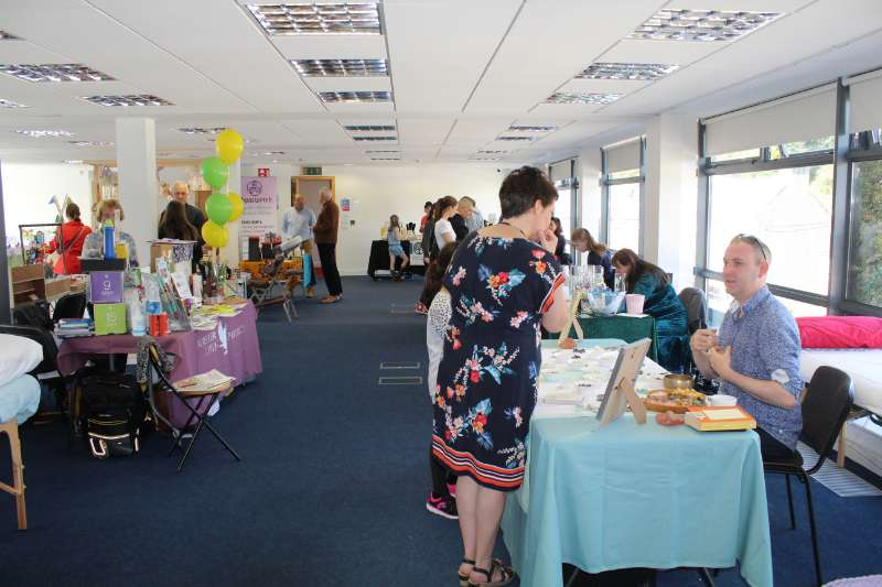 Photo of Successful Health & Wellbeing Fair