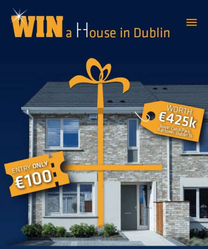 Photo of 'Win a House' tickets on sale in Boyle