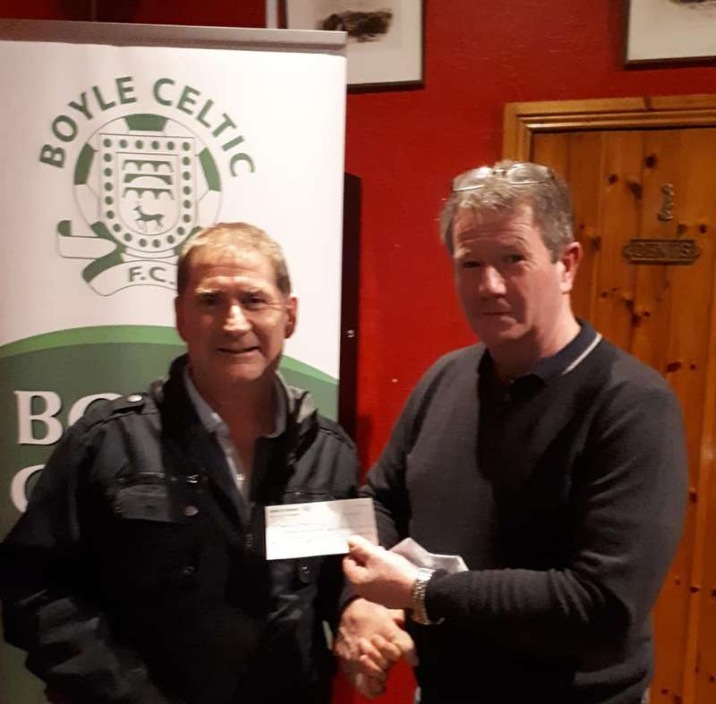 Photo of Maurice wins first 50/50 draw